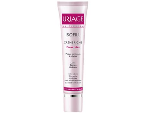 isofill rich cream wrinkle focus correction cream skincare uriage. Black Bedroom Furniture Sets. Home Design Ideas