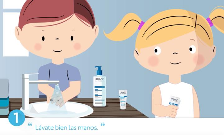 10 pasos para cuidar de la piel atópica en niños - Le Mag - Uriage